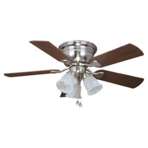 Ceiling fan on white background