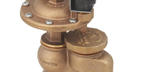 Replacement arrowhead brass valve for sprinkler repair