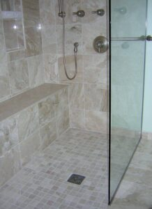 Modern shower design