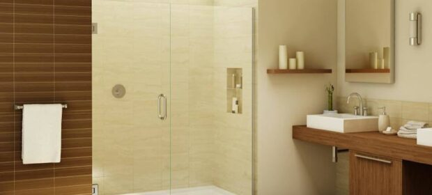 Shower with modern design