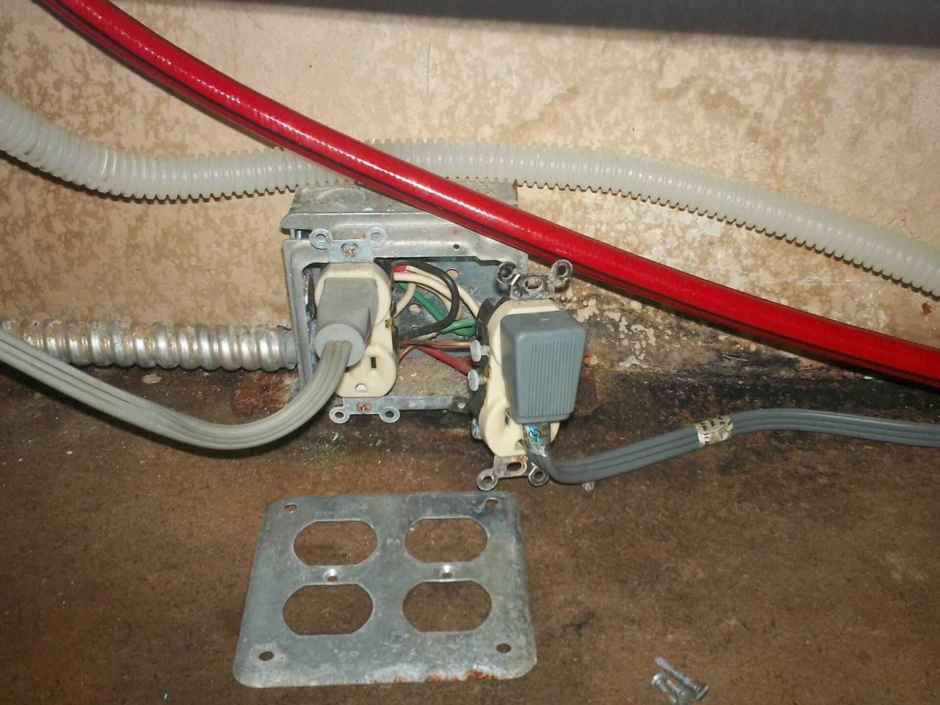 Receptacle Repair Light Switch Installs Amp Electric Plug