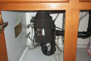 garbage disposal after replacement