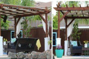 How to Install a Garden Pergola