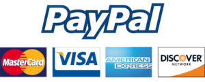 Thanks to our processing partner Paypal, we do accept most major credit & debit cards now!