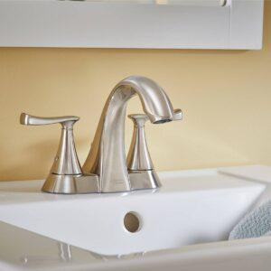 American Standard Chatfield bathroom faucet installed