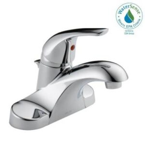 Delta Foundations bathroom faucet
