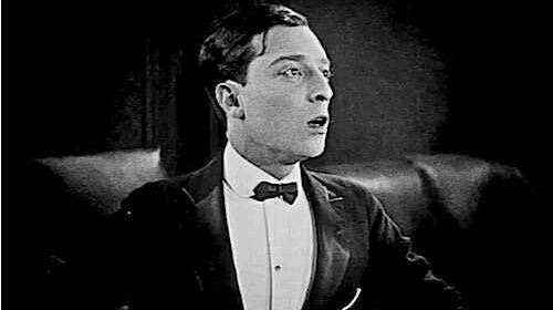 Buster Keaton Surprised