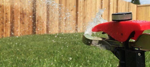 Sprinkler head that goes tktktktktk-shpyuuuu